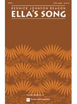 Bernice Johnson Reagon - Ella's Song - SATB - Music Book