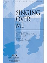 Singing Over Me - Music Book