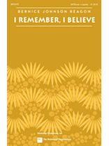Bernice Johnson Reagon - I Remember, I Believe - Music Book