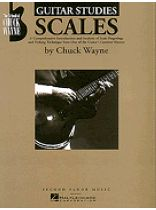 Chuck Wayne - Guitar Studies - Scales - Music Book