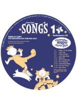 Kazoo-Boo Songs 1 CD - Collection of Songs, Activites & Musical Games for K-3 - Music Book