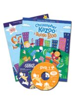 Kazoo-Boo Songs 1 - Collection of Songs, Activites & Musical Games for K-3 - Music Book