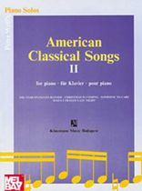 American Classical Songs 2 Music Book