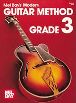 Modern Guitar Method Grade 3 Music Book