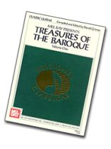 Treasures of the Baroque Volume One Music Book