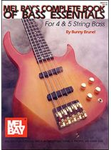 Complete Book of Bass Essentials - Bunny Brunel Music Book