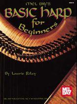 Basic Harp for Beginners Music Book