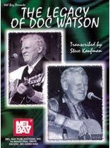 Steve Kaufman - The Legacy of Doc Watson Music Book