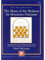 Music of the Shakers for Mountain Dulcimer Music Book