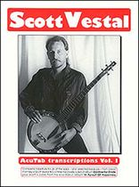 Vestal - Scott Vestal - Acutab Transcriptions Vol. 1 - Music Book