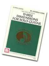 Three Dimensions for Solo Guitar Music Book