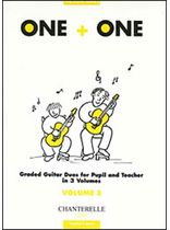 Richard Wright - One+one Vol. 3 Score Graded Guitar Duos for Pupil & Teacher Music Book
