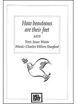Stanford - How Beauteous Are Their Feet Music Book