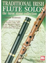Vincent Broderick - TRADITIONAL IRISH FLUTE SOLOS - THE TUROE STONE COLLECTION Music Book