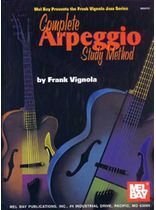 Frank Vignola - Complete Arpeggio Study Method Music Book