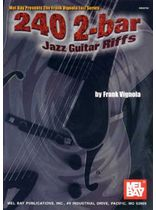 Frank Vignola - 240 2-Bar Jazz Guitar Riffs Music Book