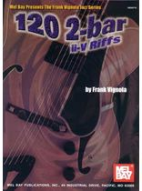 Frank Vignola - 120 2-Bar ii-V Riffs Music Book