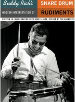 Buddy Rich's Modern Interpretation Of Snare Drum Rudiments Music Book
