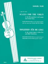 Flor - Scales For The Violin Music Book