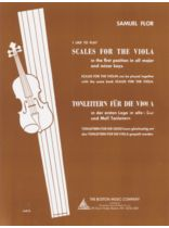 Flor - I Like To Play Scales For The Viola Music Book