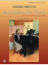 Andre Previn - Impressions for Piano - 20 Pieces for Students - Music Book