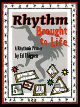 Ed Thigpen - Rhythm Brought To Life / Student Edition - Book/CD Set - Music Book