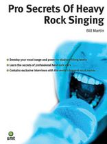 Pro Secrets of Heavy Rock Singing - Music Book