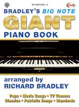 Richard Bradley - Bradley's Big Note Giant Piano Book - Music Book