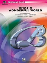 What a Wonderful World - Music Book