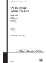 Frederick Loewe - On the Street Where You Live Music Book