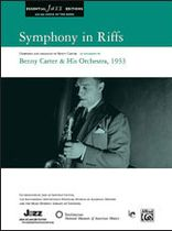 Benny Carter - Symphony in Riffs - Music Book