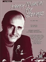 Henry Mancini - Henry Mancini for Strings - Volume 2 (1st Violin) - Music Book