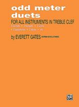 Odd Meter Duets for All Instruments in Treble Clef - Music Book