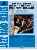 Do You Know What It Means To Miss New Orleans Music Book