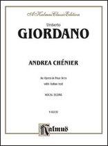 Umberto Giordano - Andrea Chenier - Music Book