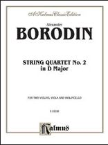 Alexander Borodin - String Quartet No. 2 in D Major - Music Book