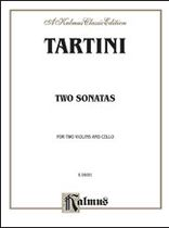 Giuseppe Tartini - Two Sonatas for String Trio - Music Book
