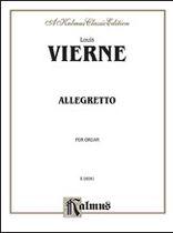 Louis Vierne - Vierne Allegetto for Organ Music Book