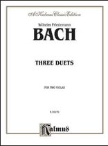 Three Duets For Violin Music Book