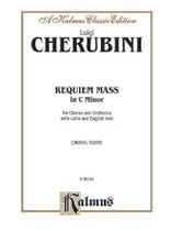 Luigi Cherubini - Requiem Mass in C Minor - Music Book