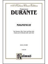 Francesco Durante - Magnificat - Music Book