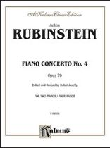 Anton Rubinstein - Piano Concerto No. 4, Op. 70 - Music Book