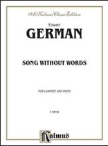Edward German - Song Without Words - Music Book