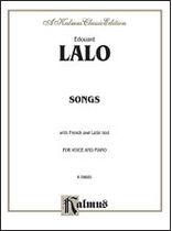 Edouard Lalo - Songs for Voice and Piano - Music Book