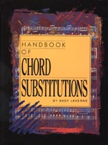 Andy Laverne - Handbook of Chord Substitutions - Music Book