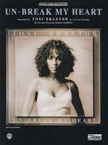 Diane Warren - Un-Break My Heart Music Book
