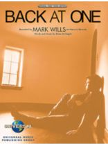 Back At One / Mark Wills - Music Book