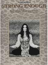 Cher - Strong Enough - Music Book