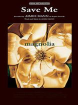 "Aimee Mann - Save Me (from ""Magnolia"") - Music Book"