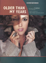 Cherie - Older Than My Years - Music Book